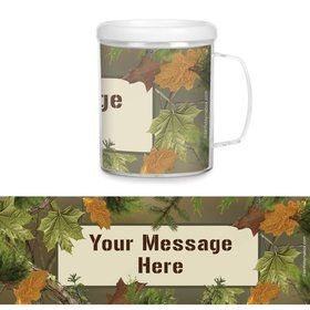Next Camo Plastic Personalized Favor Mugs (Each)