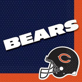 NFL Chicago Bears Luncheon Napkins (16 Pack)