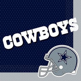Nfl Dallas Cowboys Luncheon Napkins (16 Pack)