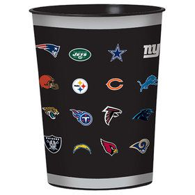NFL Football Plastic Favor Cup (1)
