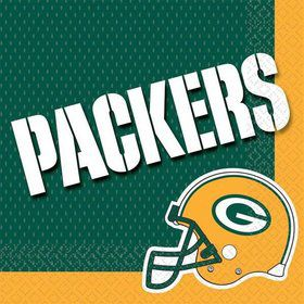 NFL Green Bay Packers Luncheon Napkins (16 Pack)