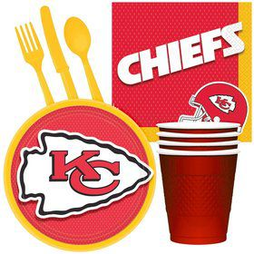 NFL Kansas City Chiefs Tailgate Party Pack For 32