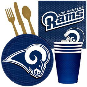 NFL Los Angeles Rams Tailgate Party Pack For 32