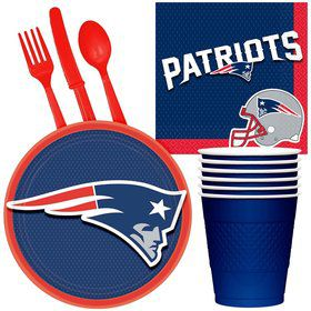 NFL New England Patriots Tailgate Party Pack for 32