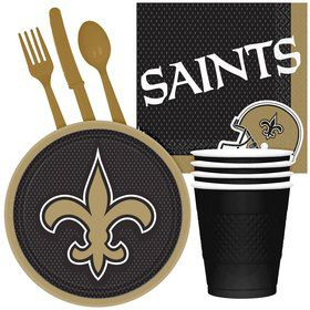 NFL New Orleans Saints Tailgate Party Pack For 32