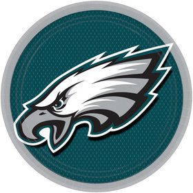 "NFL Philadelphia Eagles 9"" Luncheon Plates (8 Pack)"