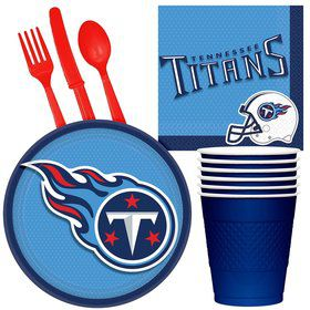 NFL Tennessee Titans Tailgate Party Pack (for 16 Guests)