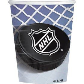 NHL Hockey 9oz Cups (8 Pack)