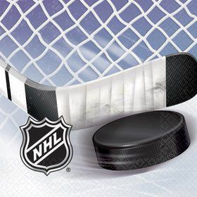 NHL Hockey Lunch Napkins (16 Count)