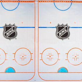 NHL Hockey Plastic Table Cover (Each)
