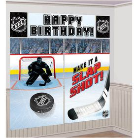 NHL Hockey Scene Setter Wall Decoration