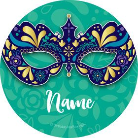 Night In Disguise Personalized Mini Stickers (Sheet of 24)