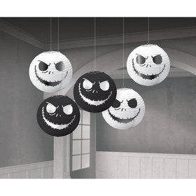 Nightmare Before Christmas Mini Lanterns (5ct)
