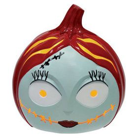 Nightmare Before Christmas Sally Light Up 6-inch Pumpkin
