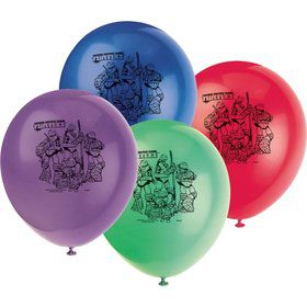 "Ninja Turtles 12"" Balloons (8 Count)"