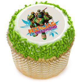 "Ninja Turtles 2"" Edible Cupcake Topper (12 Images)"