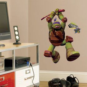 Ninja Turtles Donatello Giant Wall Decal (Each)