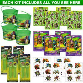 Ninja Turtles Favor Kit (For 4 Guests)