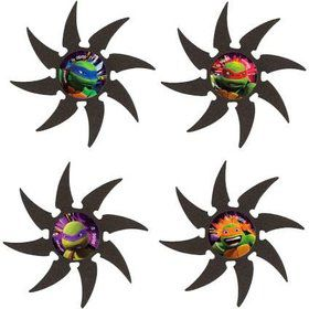 Ninja Turtles Foam Stars (4 Count)