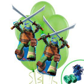 Ninja Turtles Leonardo Jumbo Balloon Bouquet Kit