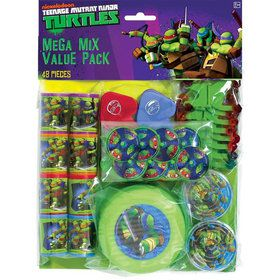 Ninja Turtles Mega Favor Pack (For 8 Guests)