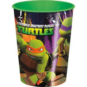 Ninja Turtles Plastic Cup 16oz. (Each)