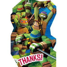 Ninja Turtles Postcard Thank You Cards (8 Pack)