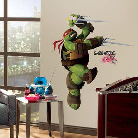 Ninja Turtles Raphael Giant Wall Decal (Each)