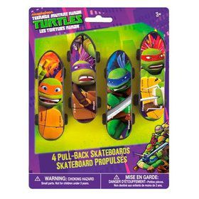 Ninja Turtles Skateboards (4 Count)