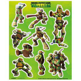 Ninja Turtles Sticker Sheets (4 Sheets)