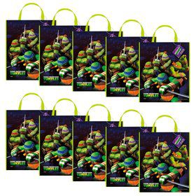 Ninja Turtles Tote Bag 13'' X 11'' (Set of 10)