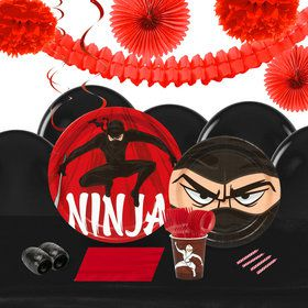 Ninja Warrior 16 Guest Tableware Decoration Kit