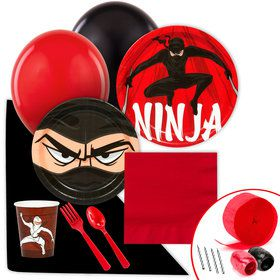 Ninja Warrior Party Value Party Pack