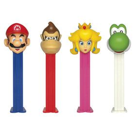 Nintendo Pez Dispenser and Candy Set (Each)