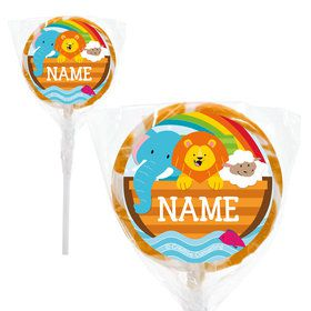 "Noah's Ark Personalized 2"" Lollipops (20 Pack)"