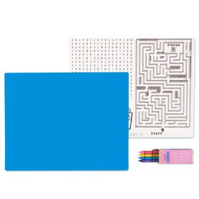 Ocean Blue Activity Placemat Kit for 4