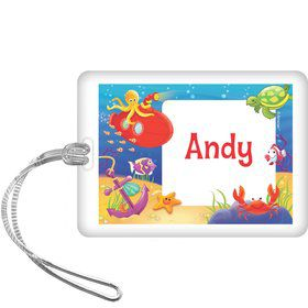 Ocean Friends Personalized Bag Tag (each)