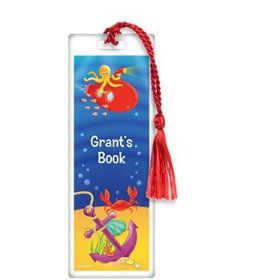 Ocean Friends Personalized Bookmark (each)