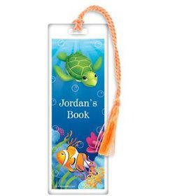 Ocean Party Personalized Bookmark (each)
