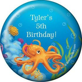 Ocean Party Personalized Magnet (each)