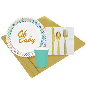 Oh Baby 8 Guest Party Pack