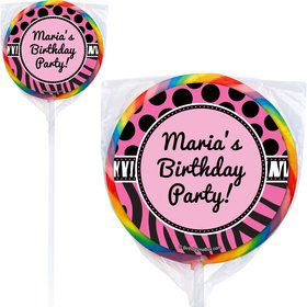 Oh So Fabulous Lollipops (Pack Of 12)