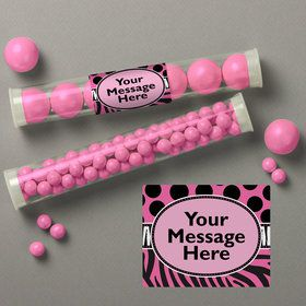 Oh So Fabulous Personalized Candy Tubes (12 Count)