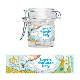 Oh The Places You'll Go Personalized Glass Apothecary Jars (12 Count)