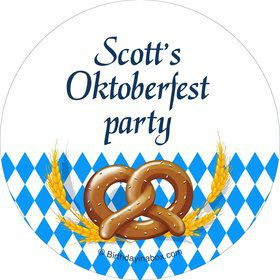Oktoberfest Personalized Stickers (Sheet of 12)