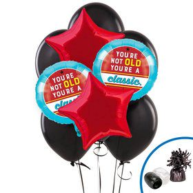 Old Age Humor Balloon Bouquet Kit