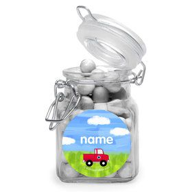On The Go Personalized Glass Apothecary Jars (10 Count)