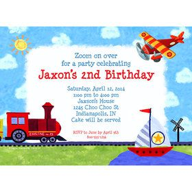 On the Go Personalized Invitation (Each)