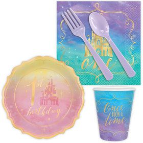 Once Upon a Time 1st Birthday Snack Pack for 16