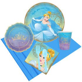 Once Upon a Time Cinderella Party Pack for 8